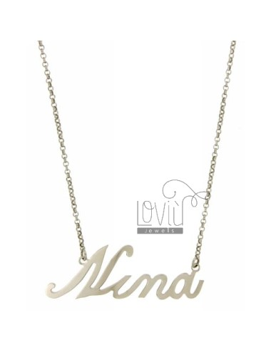 Rolo necklace & 39cm 45...