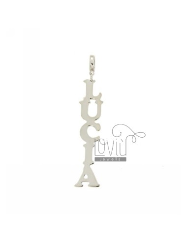 Vertical pendant name lucia...