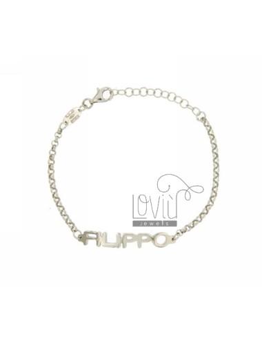 Rolo bracelet 'name baby...