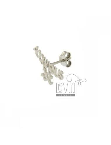 Mono acquarius earring...