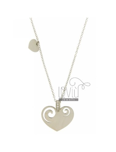 NECKLACE CABLE 42 CM WITH...