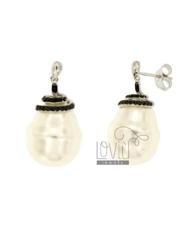 Earrings WHITE PEARL...