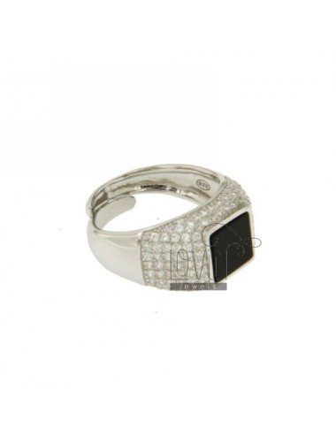 STONE OF ONYX RING WITH...