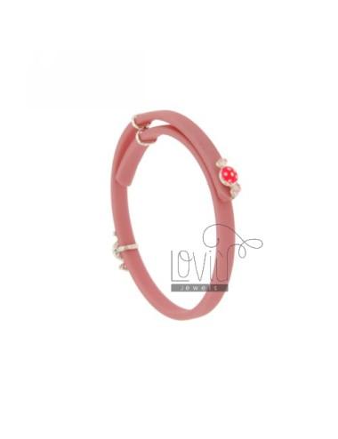 Baby bracelet in rubber...
