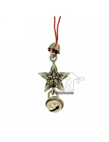 CHARMS FOR MOBILE STAR WITH Rattle IN AG TIT 800 ‰