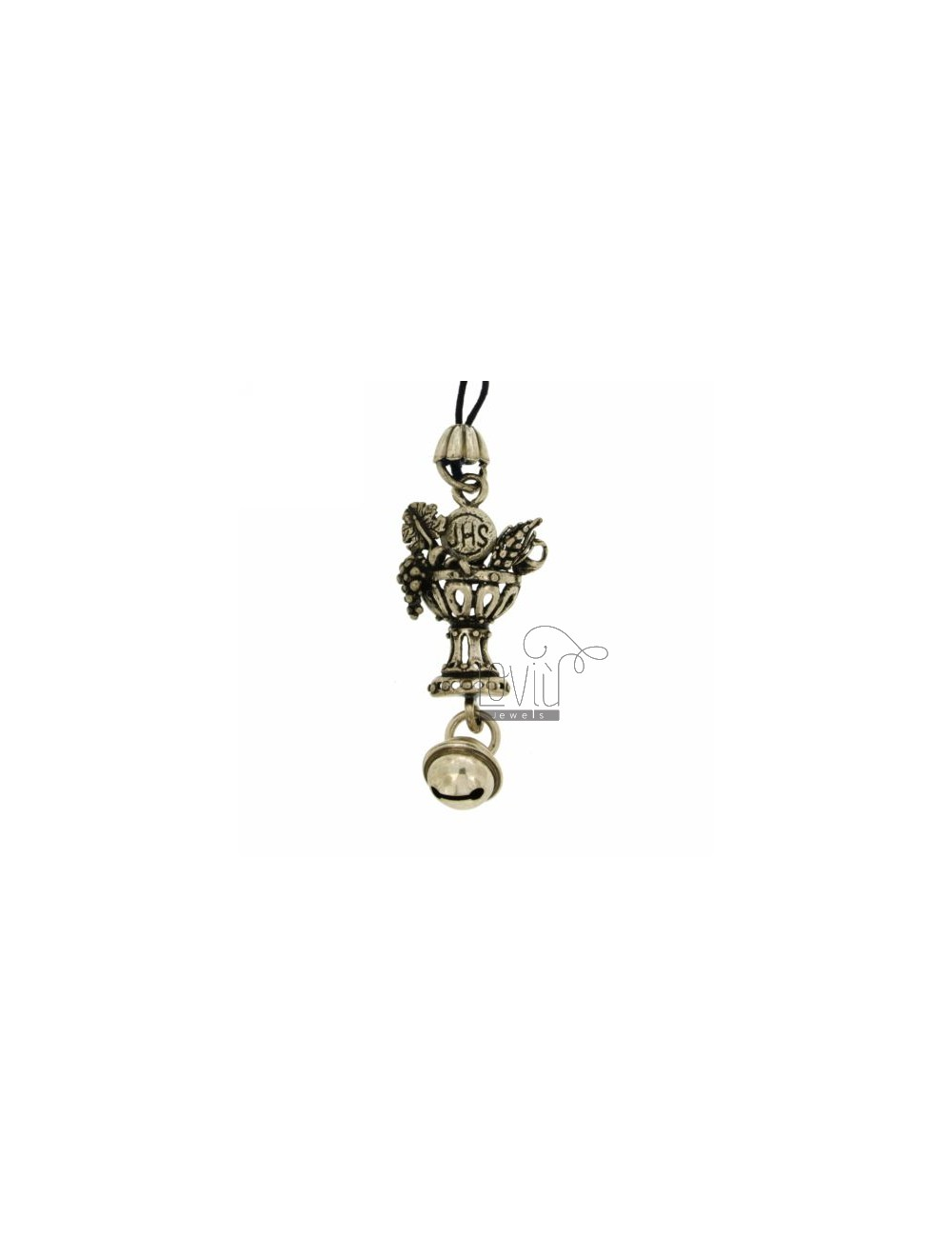 CHARMS FOR MOBILE COMMUNION WITH Rattle IN AG TIT 800 ‰