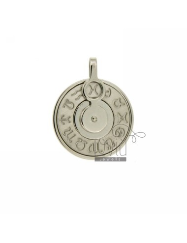 CHARM ROUND 22 MM WITH...