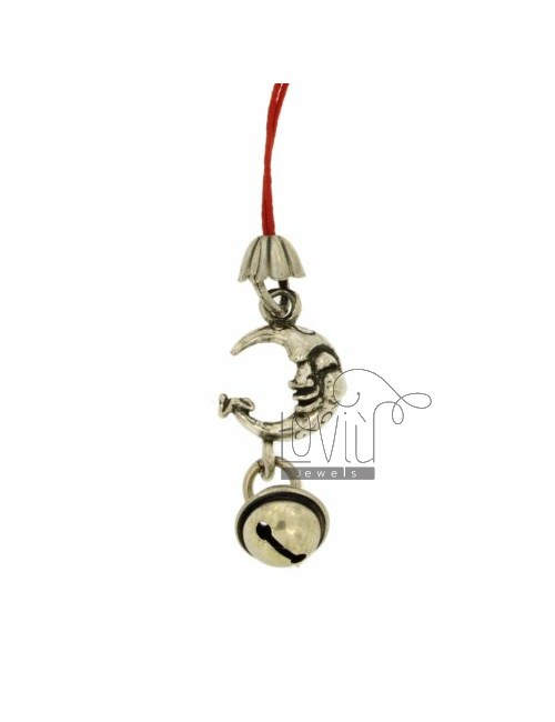 CHARMS FOR MOBILE MOON WITH Rattle IN AG TIT 800 ‰