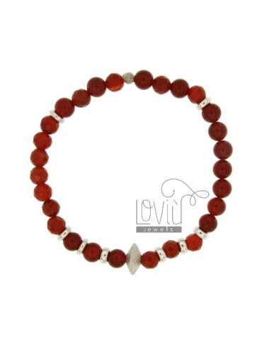 Bracelet bangle corniola mm...