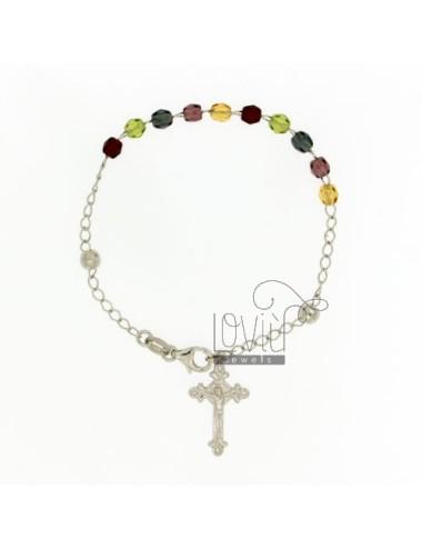 Pulsera de rosario con...
