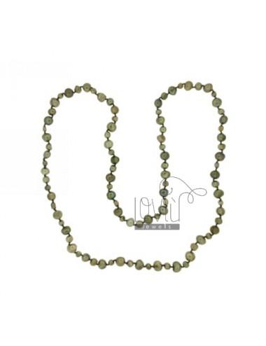 Lace verde perlas...