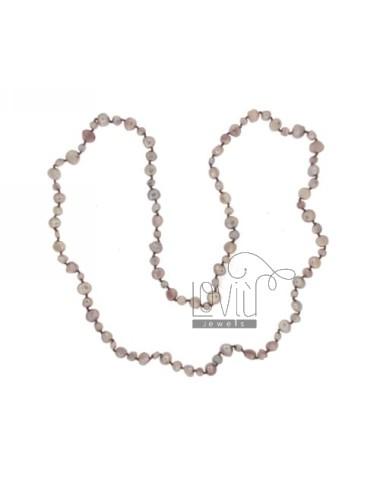 Lace lila perlas scaramazze...