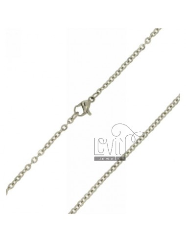 CHAIN CABLE MM 2,5 PZ 2 STEEL 50 CM