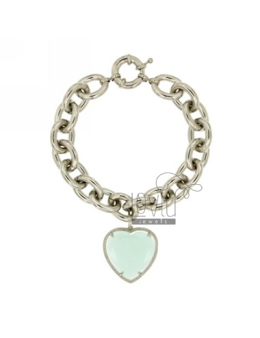 BRACELET WITH METAL HEART TIFFANY