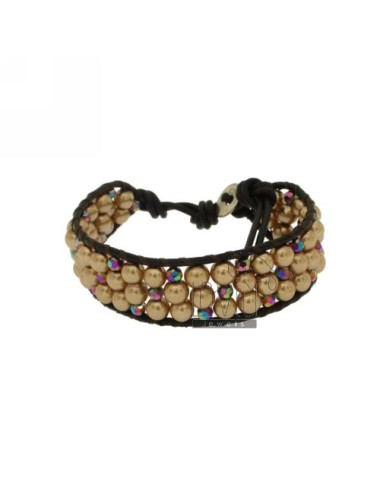 Bracelet tessito pearl and...