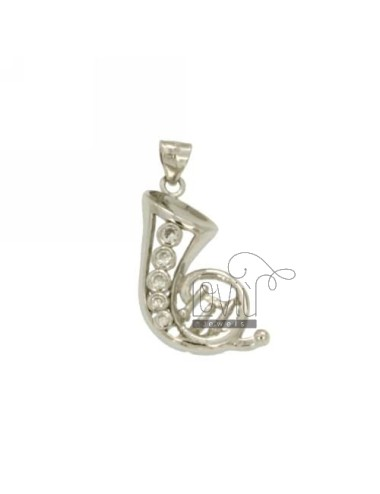 TRUMPET SILVER CHARM MM...