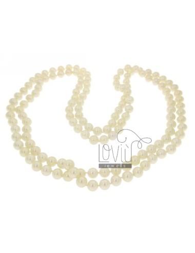 Encaje en perlas 10 mm 160 cm