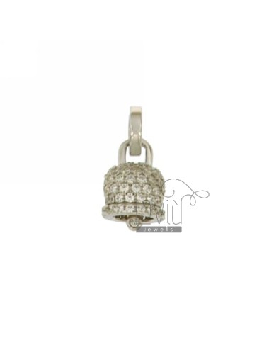 PENDANT BELL 14X11 MM WITH...
