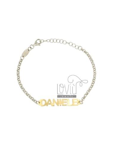 Rolo bracelet 'babyname...