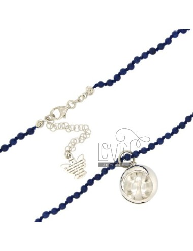 Necklace stone dura 4 mm 80...