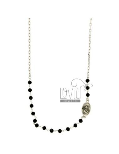 Halskette mit Steinen...