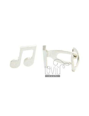 GEMINI MM 13x14 MUSICAL NOTE SILVER TIT 925 ‰