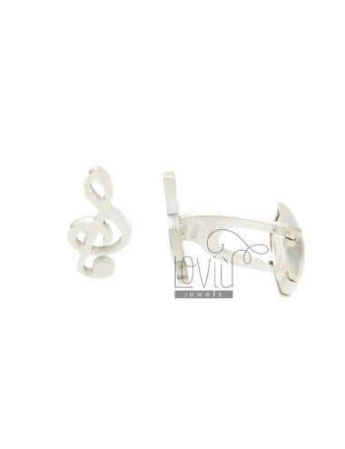 GEMINI KEY VIOLIN MM 18x9 TIT SILVER 925 ‰