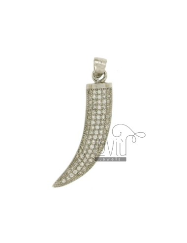 HORN PENDANT 29X8 MM WITH...