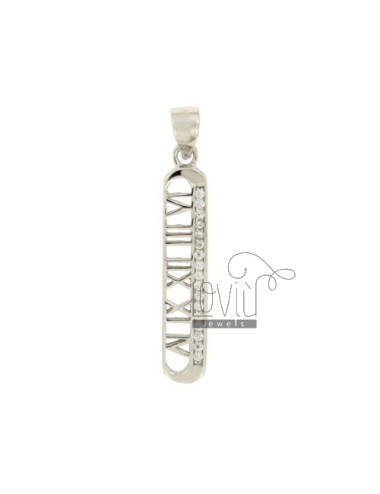 CHARM WITH roman numerals...
