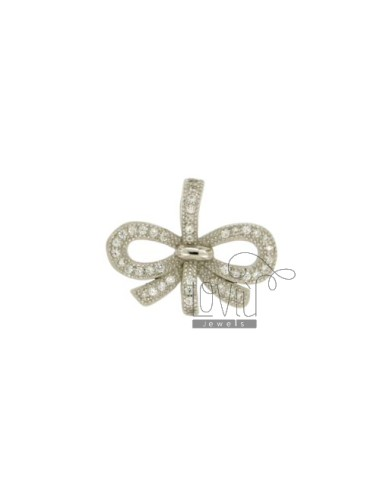 CHARM BOW MM 16X20 SILVER...