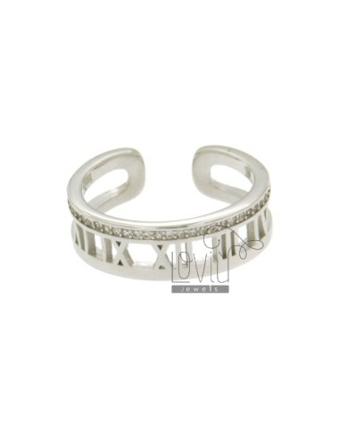 MM BAND RING WITH 7 NUMBERS...