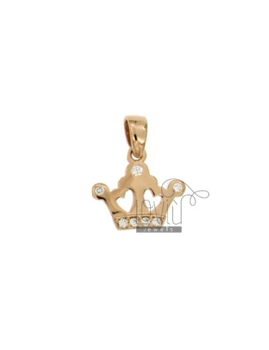 CHARM CROWN MM 15X15...