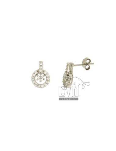 ROUND LOBE EARRINGS MM 11X8...