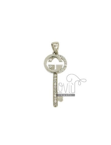 PENDANT KEY 23X9 MM WITH...