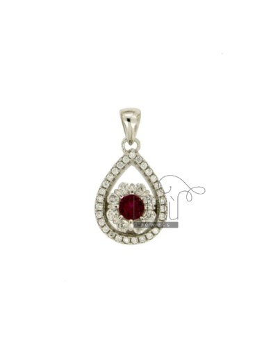 PENDANT DROP 17X12 MM WITH...