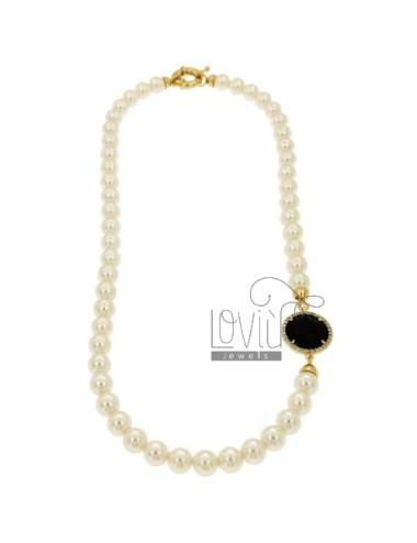 Parure necklace cm 45,...