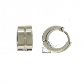 EARRINGS CERCHIETTO snap BARREL DIAMETER 13 MM 7 STEEL