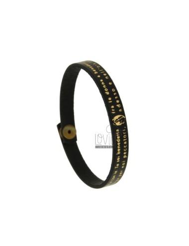 Bracelet ave maria in black...