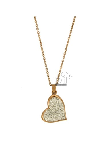 Pendant heart mm 28x21...