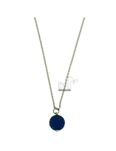 Sphere pendant 12 mm with...
