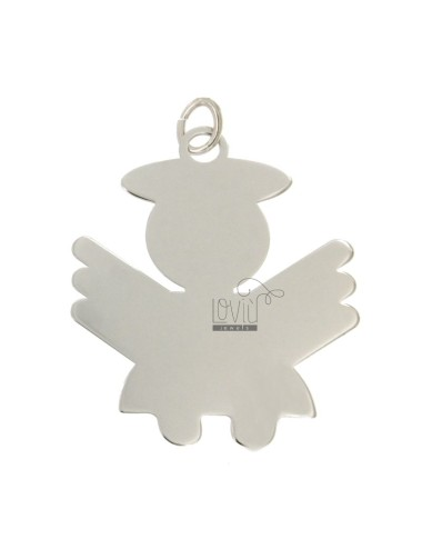 CHARM ANGEL A PLATE MM...