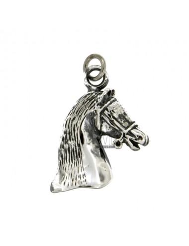 CHARM HORSE HEAD MM30X20...