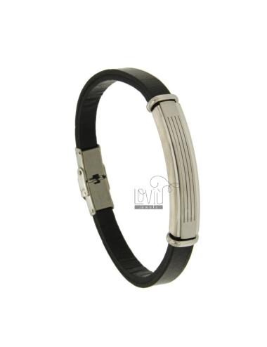 Armband aus Leder mit 7 mm...