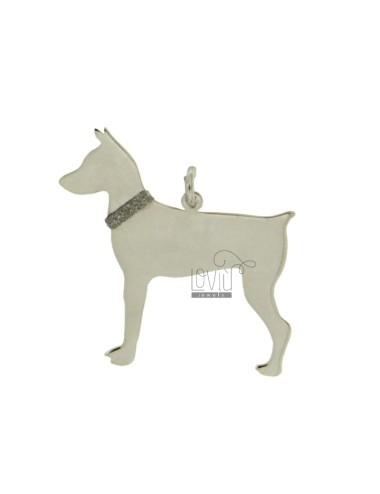 Colgante del perro DOBERMAN...
