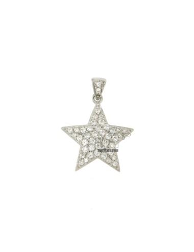 CHARM STAR MM 19x17 Silber...