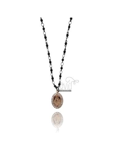 Miraculous medal pendant...