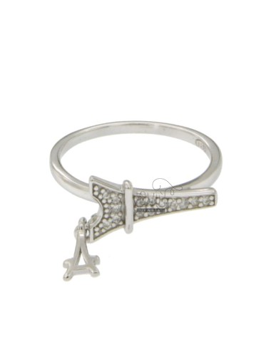 RING TOWER IN SILVER...