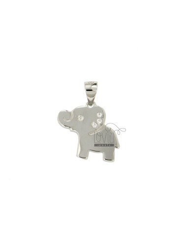 ELEPHANT PENDANT MM 15X16...