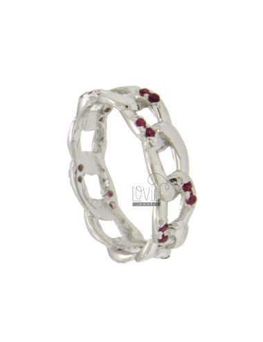 Curb CHAIN RING IN SILBER...