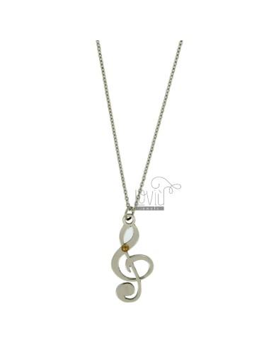 Pendant key of violin mm...